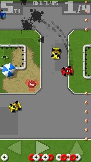 「Retro Racing」のスクリーンショット 2枚目