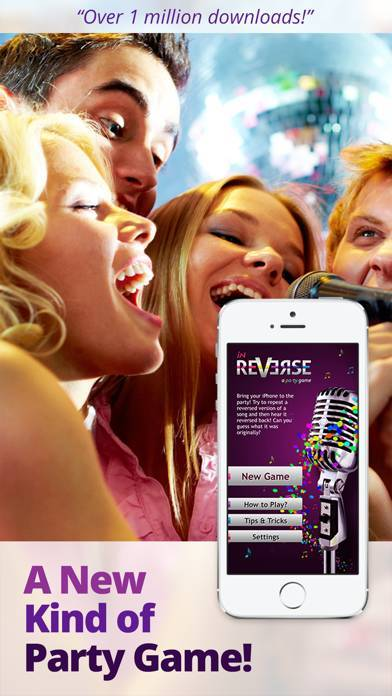 「inReverse Karaoke Lite」のスクリーンショット 1枚目