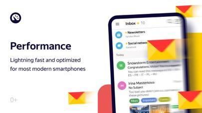 「Yandex.Mail - Email App」のスクリーンショット 3枚目