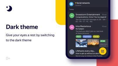 「Yandex.Mail - Email App」のスクリーンショット 1枚目