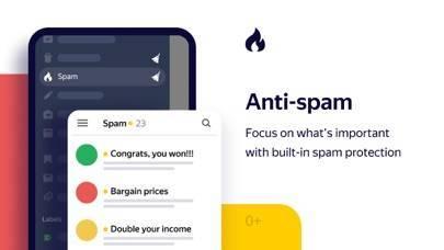 「Yandex.Mail - Email App」のスクリーンショット 2枚目