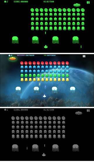 「スペース・インベイジョン 2」のスクリーンショット 2枚目