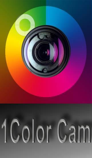 「1Color CAM - Splash your photos LIVE」のスクリーンショット 1枚目