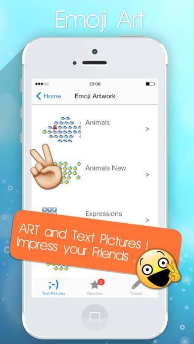 「Emoji Emoticons Text Pic Art & New Stickers 2017」のスクリーンショット 3枚目