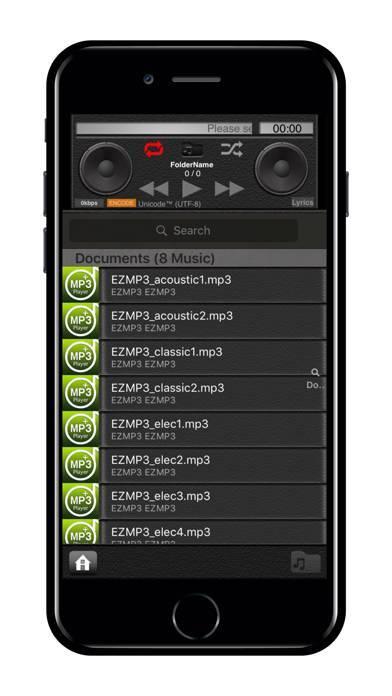 「EZMP3 Player Pro」のスクリーンショット 3枚目