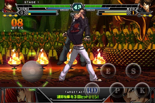 「THE KING OF FIGHTERS-i」のスクリーンショット 3枚目
