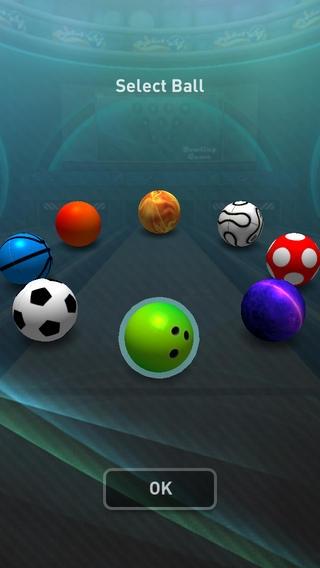 「Bowling Game 3D」のスクリーンショット 2枚目