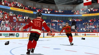 「Hockey Fight Lite」のスクリーンショット 3枚目