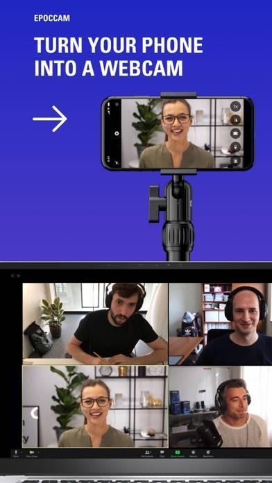 「EpocCam Webcam for Mac and PC」のスクリーンショット 1枚目