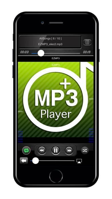 「EZMP3 Player」のスクリーンショット 2枚目