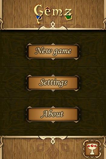 「Gemz for iPhone」のスクリーンショット 1枚目