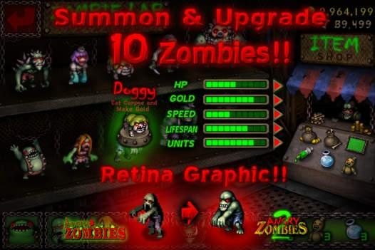 「Angry Zombies 2 HD」のスクリーンショット 2枚目