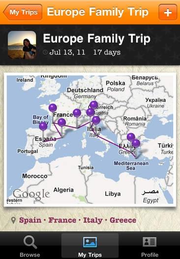「TripColor - Social Travel Sharing and Holiday Travel Blog」のスクリーンショット 3枚目