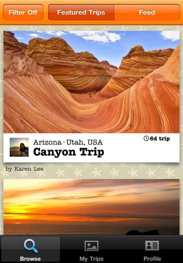 「TripColor - Social Travel Sharing and Holiday Travel Blog」のスクリーンショット 1枚目