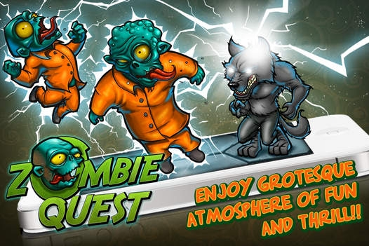 「Zombie Quest - Mastermind the hexes!」のスクリーンショット 1枚目