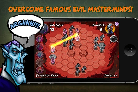 「Zombie Quest - Mastermind the hexes!」のスクリーンショット 2枚目