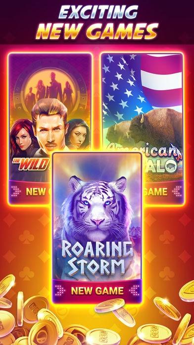 「GSN Casino - オンラインカジノスロットゲーム」のスクリーンショット 2枚目