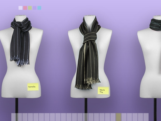 「スカーフの結び方」のスクリーンショット 3枚目