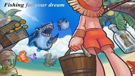 「みんなの釣り - Funny Fish」のスクリーンショット 1枚目