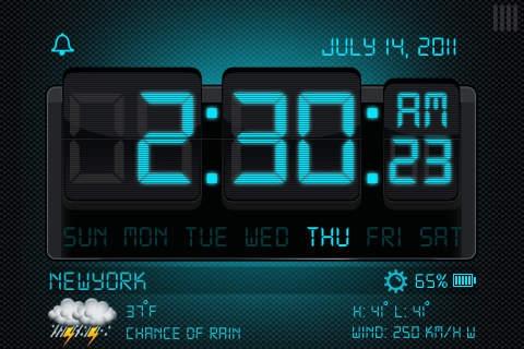 「Alarm Clock! Free」のスクリーンショット 1枚目