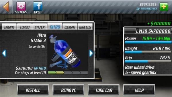 「Nitro Nation Drag Racing」のスクリーンショット 3枚目