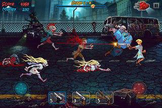 「Zombie Shock Again」のスクリーンショット 2枚目