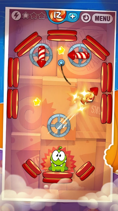 「Cut the Rope: Experiments ™ (カット・ザ・ロープ:実験)」のスクリーンショット 3枚目