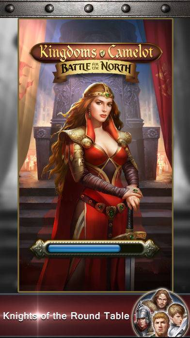 「Kingdoms of Camelot: Battle」のスクリーンショット 1枚目