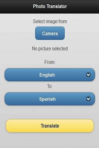 「Photo Translator Pro」のスクリーンショット 1枚目