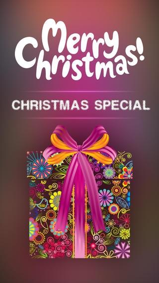 「クリスマスホーム画面棚壁紙ザイナー - iOS 7 Edition」のスクリーンショット 1枚目