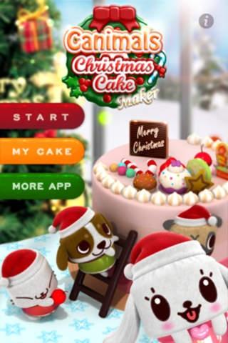 「キャニマル・クリスマスケーキメーカー - Full」のスクリーンショット 1枚目