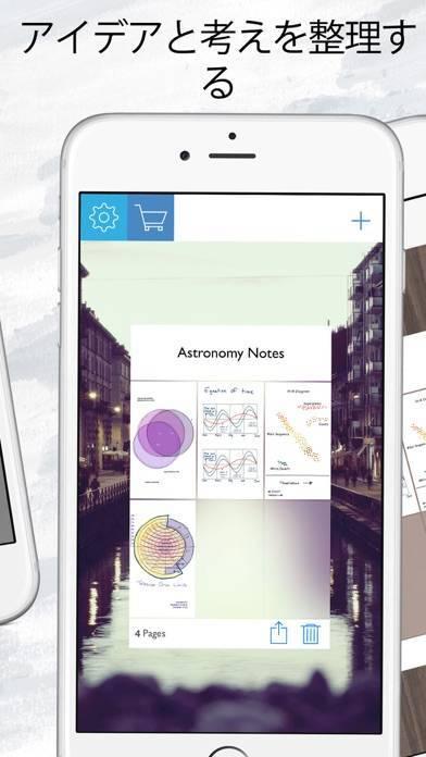 「ドローパッドプロ : 無制限のノートパッドとスケッチブック」のスクリーンショット 3枚目