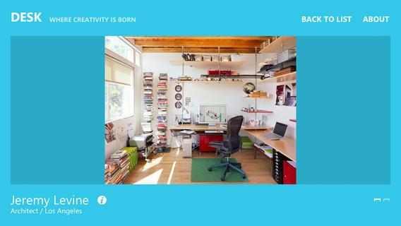 「DESK - where creativity is born」のスクリーンショット 2枚目