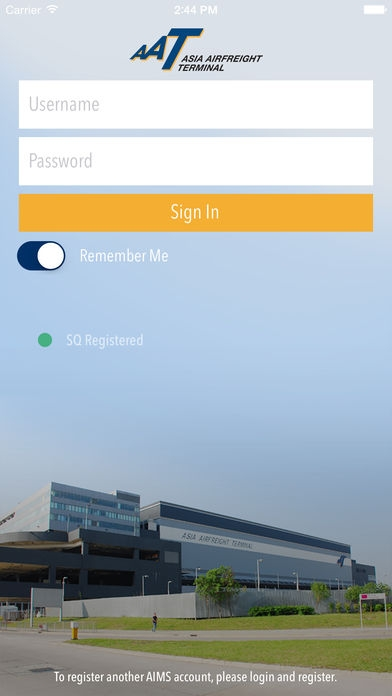 「AAT Mobile Plus」のスクリーンショット 1枚目