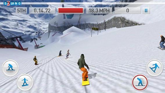 「Fresh Tracks Snowboarding」のスクリーンショット 1枚目
