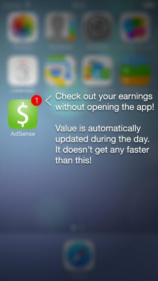 「QuickAdsense - Google Adsense App」のスクリーンショット 3枚目