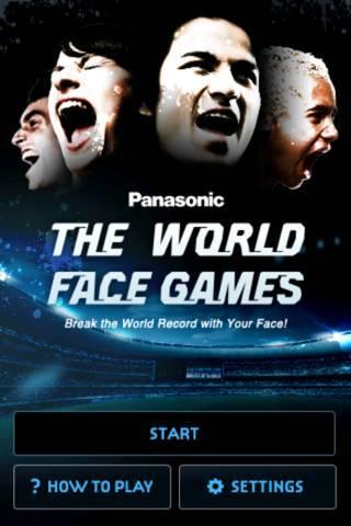 「The World Face Games」のスクリーンショット 1枚目