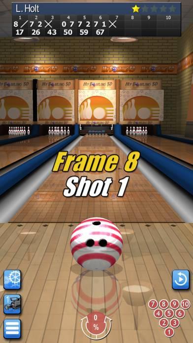 「My Bowling 3D」のスクリーンショット 3枚目