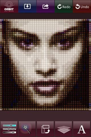 「aColorMosaic lite - Amazing Color Mosaic lite」のスクリーンショット 2枚目