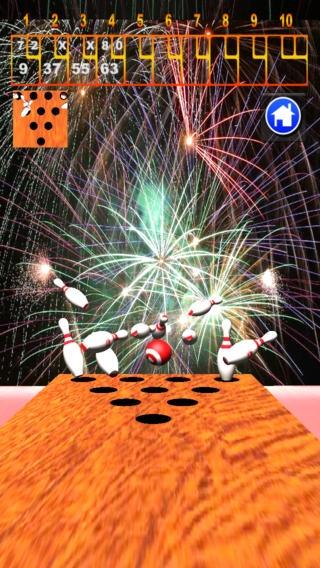 「スマートボウリング 3D」のスクリーンショット 3枚目