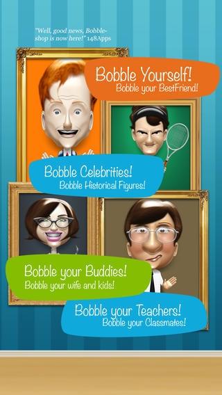 「Bobbleshop - Bobble Head Avatar Maker」のスクリーンショット 3枚目