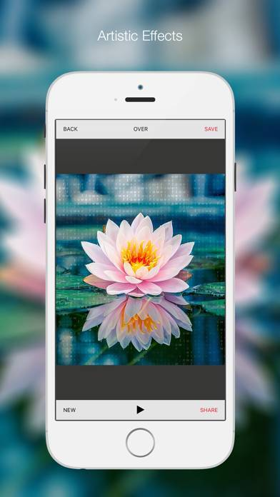 「Bitpoem - Photo Filters and Effects」のスクリーンショット 3枚目