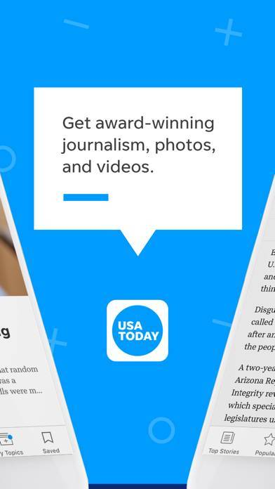 「USA TODAY - News: Personalized」のスクリーンショット 2枚目