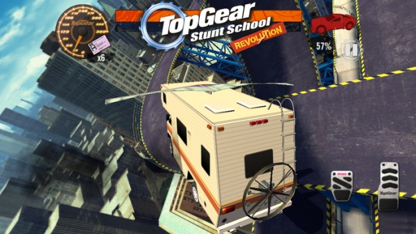 「Top Gear: Stunt School Revolution」のスクリーンショット 3枚目