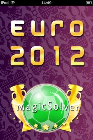 「ユーロ2012:速報、試合結果をリアルタイムに提供」のスクリーンショット 1枚目