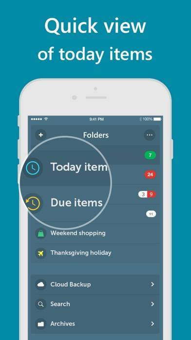 「Orderly - Simple to-do lists」のスクリーンショット 3枚目