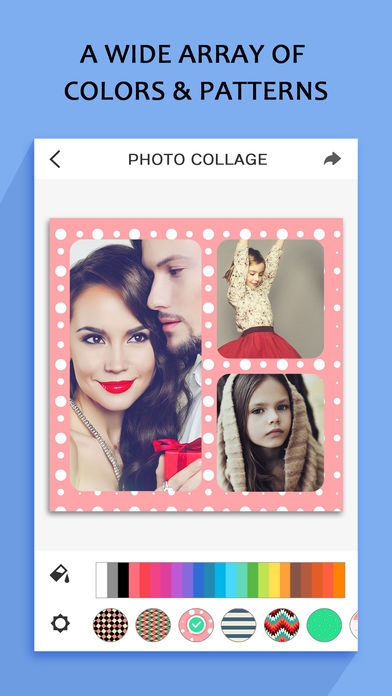 「Photo Collage – Frame Editor and Perfect Camera」のスクリーンショット 3枚目