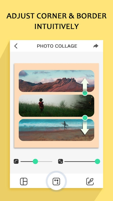 「Photo Collage – Frame Editor and Perfect Camera」のスクリーンショット 2枚目