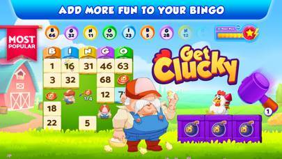 「Bingo Bash: ビンゴ ゲーム と スロット アプリ」のスクリーンショット 3枚目