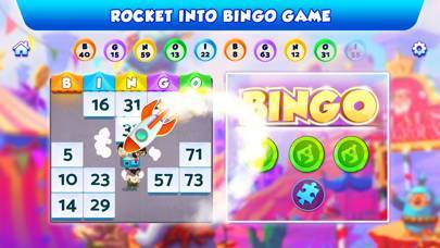 「Bingo Bash: ビンゴ ゲーム と スロット アプリ」のスクリーンショット 2枚目
